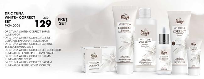 Tratament cosmetic anti pigmentar