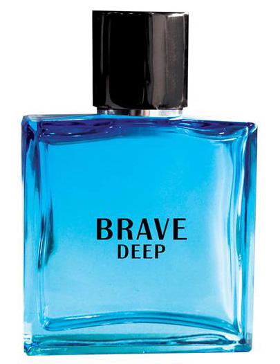 Apa de parfum barbati Brave Deep