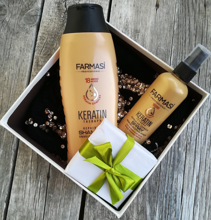 Şampon cu Keratină