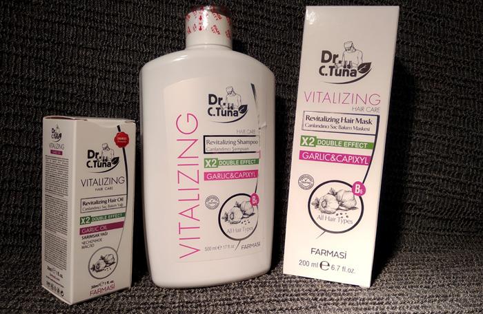 Şampon cu usturoi de la Farmasi