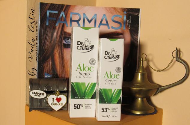 Crema Aloe Vera pentru ten