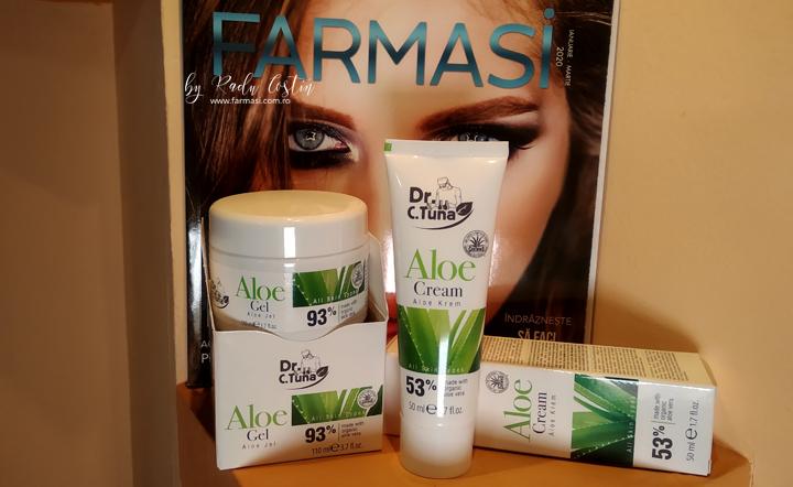 Crema Aloe Vera Farmasi