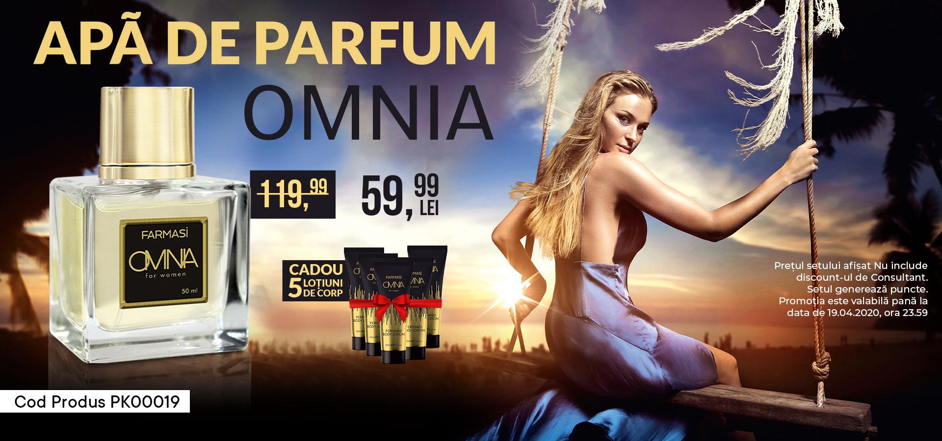 Apa parfum Omnia