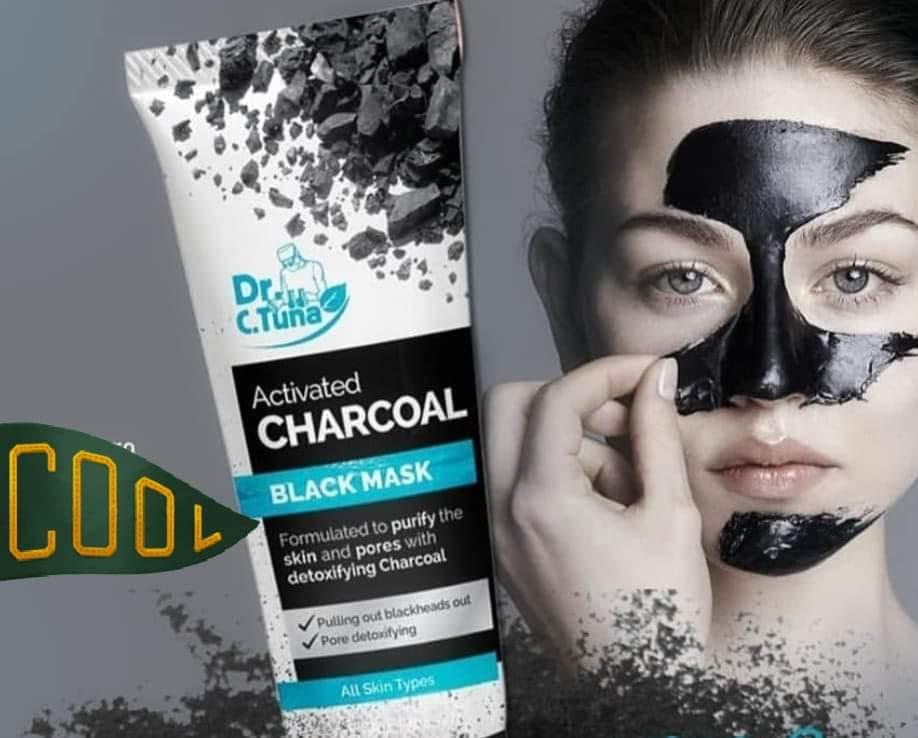 Farmasi mască ten cu cărbune activ