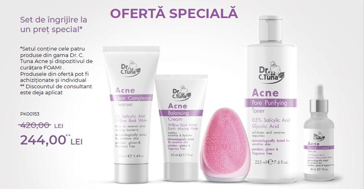 Mini Catalog Farmasi set anti acnee