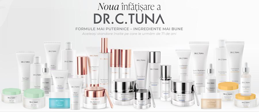 Dr C Tuna cosmetice Farmasi