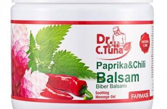 Farmasi: cremă balsam cu paprika şi chili