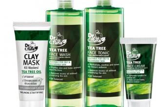 Arbore de ceai: set îngrijirea tenului Dr. Tuna