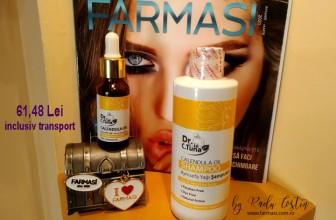 Şampon şi ulei concentrat din gălbenele